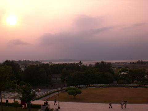 金門の景色