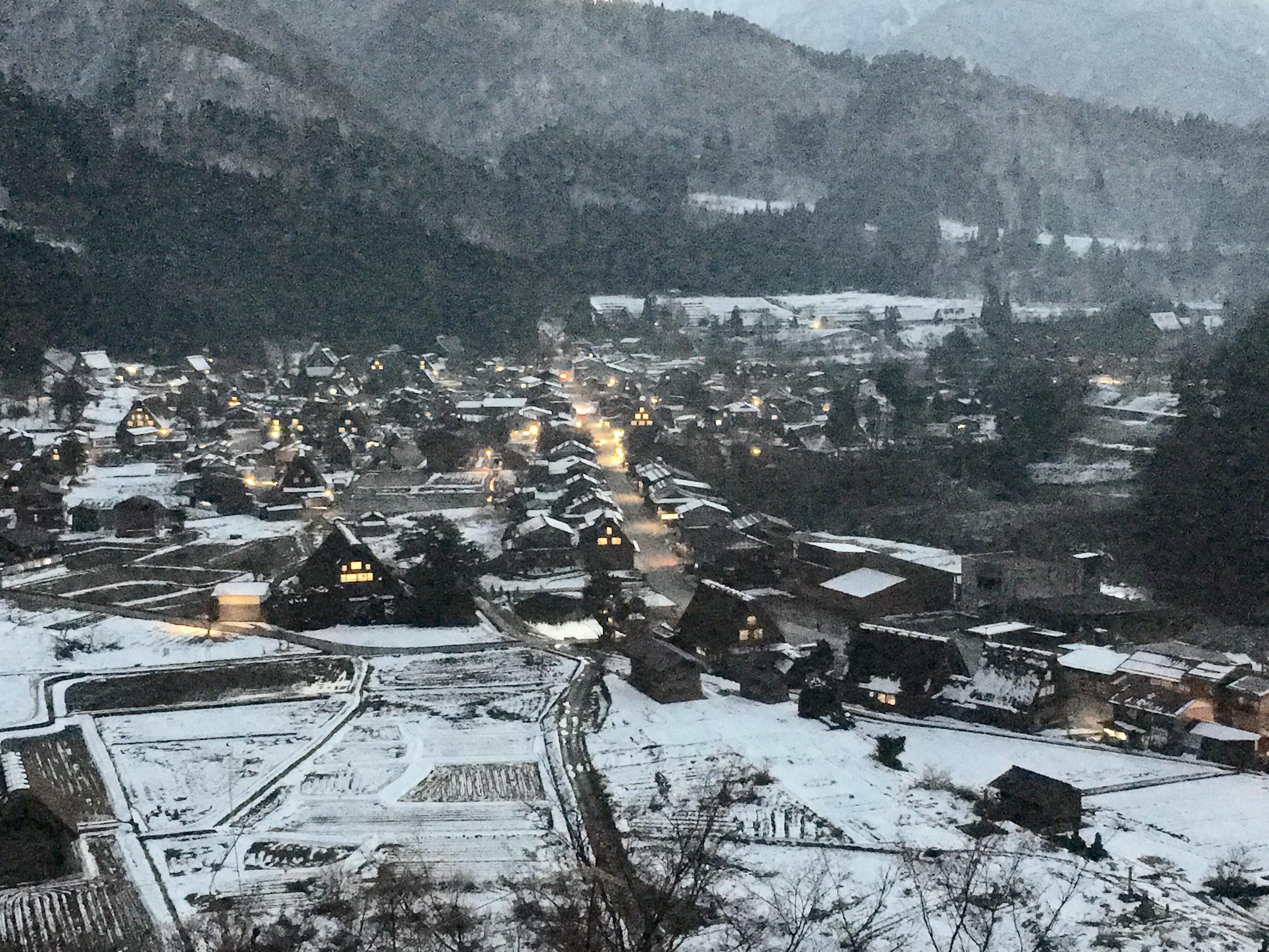 新年の景色
