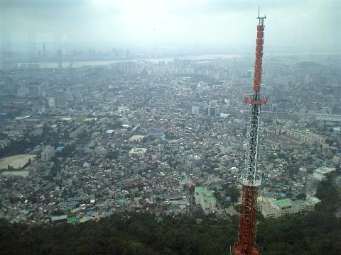 ソウル市街展望1