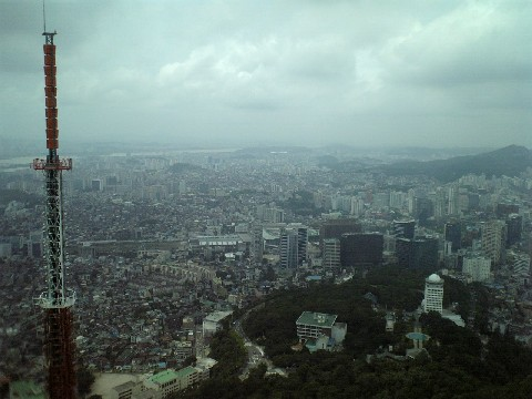 ソウル市街展望2