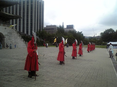 景福宮衛兵