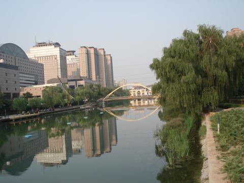 北京のもや